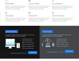 Nro 12 kilpailuun Design a Website Mockup for a Web Hosting Company käyttäjältä santoshsinh