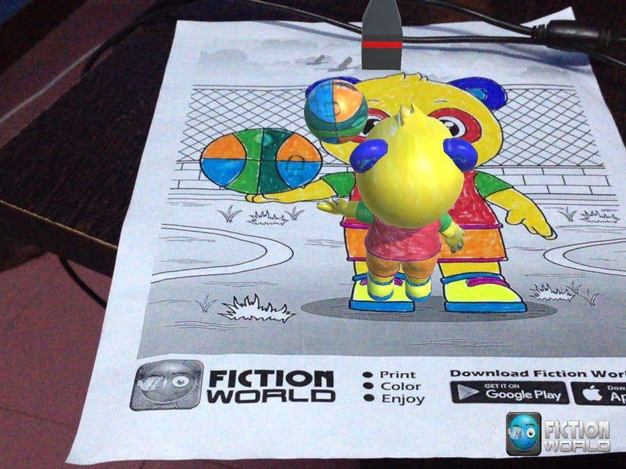 Entry #7 by inakanimation for Build Interactive 3D Book App