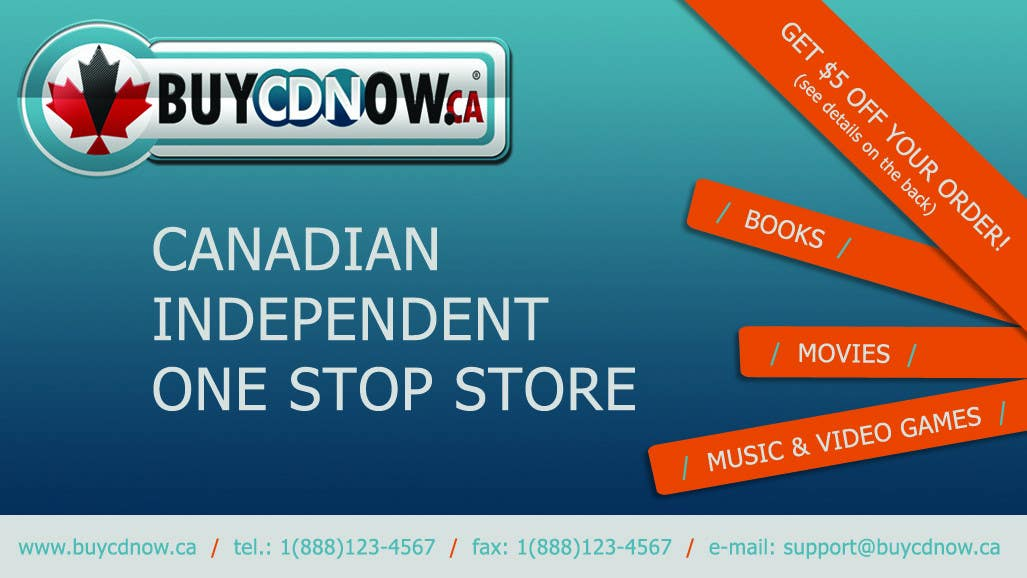 Contest Entry #                                        19                                      for                                         Business Card Design for BUYCDNOW.CA