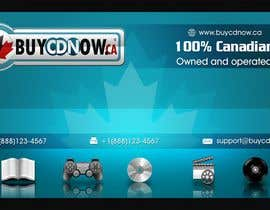 #79 untuk Business Card Design for BUYCDNOW.CA oleh paalmee