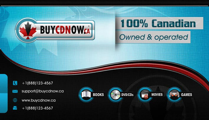 Конкурсная заявка №80 для Business Card Design for BUYCDNOW.CA