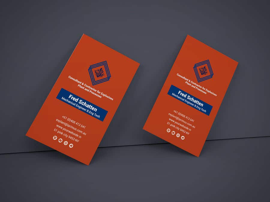Entry #73 by tasnim02 for Business card with graphic | Freelancer