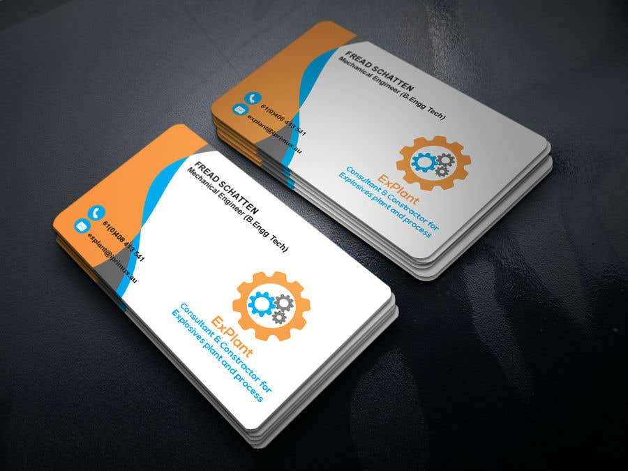 Entry #192 by tasneemsiraj70 for Business card with graphic
