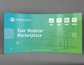 #4 for Design Trade Show Booth Backdrop - ModuGo by adarshdk