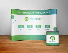 #8 for Design Trade Show Booth Backdrop - ModuGo by ruzenmhj