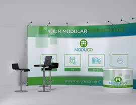 #9 for Design Trade Show Booth Backdrop - ModuGo by moitbd