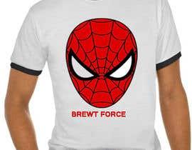 #7 for Brewt Force Tee Shirt (Running Team) by sgtabbas