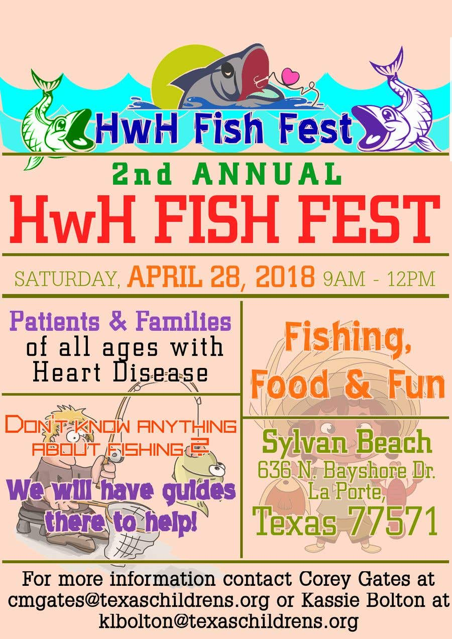 Contest Entry #9 for Fish Fest Flyer
