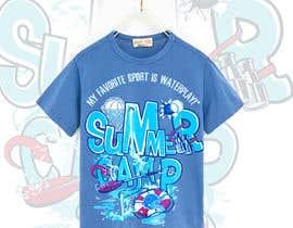 Nro 34 kilpailuun Kids Sports Summer Camp T-Shirt Design käyttäjältä emeget