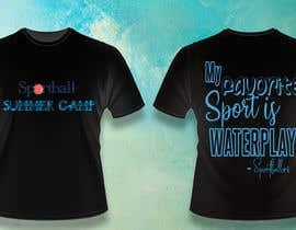 #40 untuk Kids Sports Summer Camp T-Shirt Design oleh tahmina2018