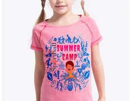 #51 untuk Kids Sports Summer Camp T-Shirt Design oleh Lucky571Akash