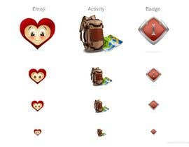 #25 for Graphic Illustrator Needed For Emoji's, Badges, Medals, & Other Icons (Winner WIll Be Hired For Additional Work) by ApegenStudios