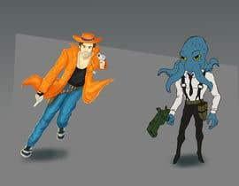 Nro 24 kilpailuun Videogame artwork käyttäjältä Thabsheeribz