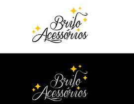 """#62 , Criação de logotipo da empresa de bijouterias """"Brilo Acessórios"""" 来自 SoyCarola"""