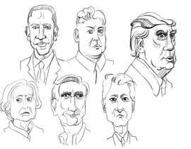 #2 for sketch drawing or Illustration of Donald Trump, Mitt Romney, Kim Jong Un, Hillary Clinton, Bill Clinton and Barack Obama af hussienkareem