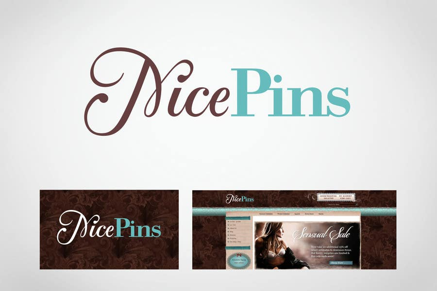 Contest Entry #71 for Logo Design for Nice Pins (nicepins.com)