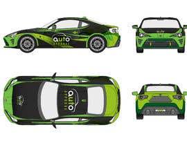 Nro 6 kilpailuun Racing car graphic design käyttäjältä alldesign89