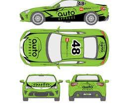 Nro 8 kilpailuun Racing car graphic design käyttäjältä TheFaisal