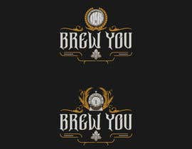 "#93 for I need a logo for my brewing company ""Brew You"". Im thinking something retro, stram punk and/or straigh up punk (combine to hearts content). Bonus points if you include hops! by djmaric"