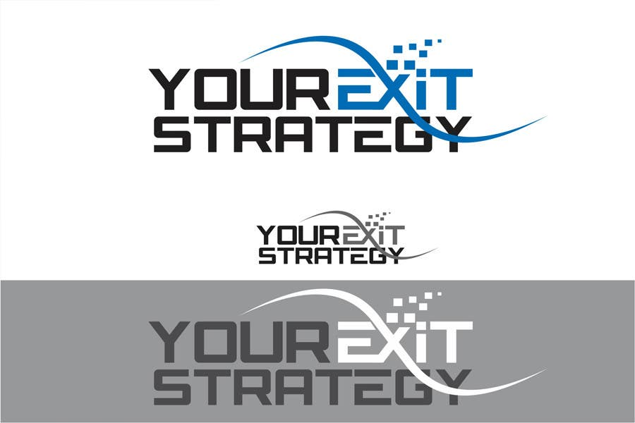 #65 for Logo Design for Your Exit Strategy by oxygenwebtech