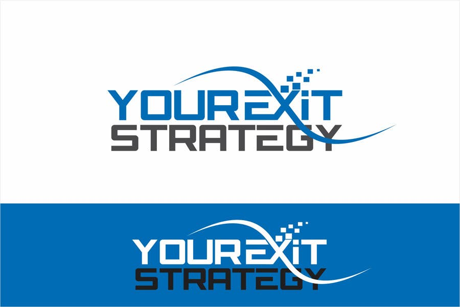#63 for Logo Design for Your Exit Strategy by oxygenwebtech