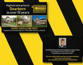 nº 94 pour Real Estate Agent Postcard par honeyummee