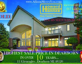 nº 92 pour Real Estate Agent Postcard par kaloqn81