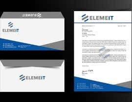 #19 for Elemeit letterhead & envelop by safiqul2006
