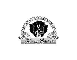 #24 untuk Fancy Bitches - Fix up my new business logo oleh b3no
