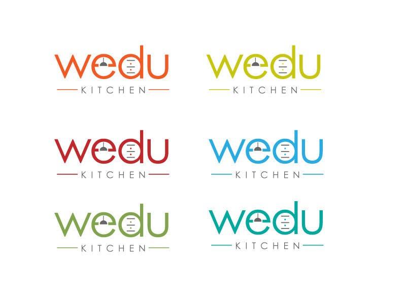 #154 for Logo Design for Wedu Kitchens by designer12