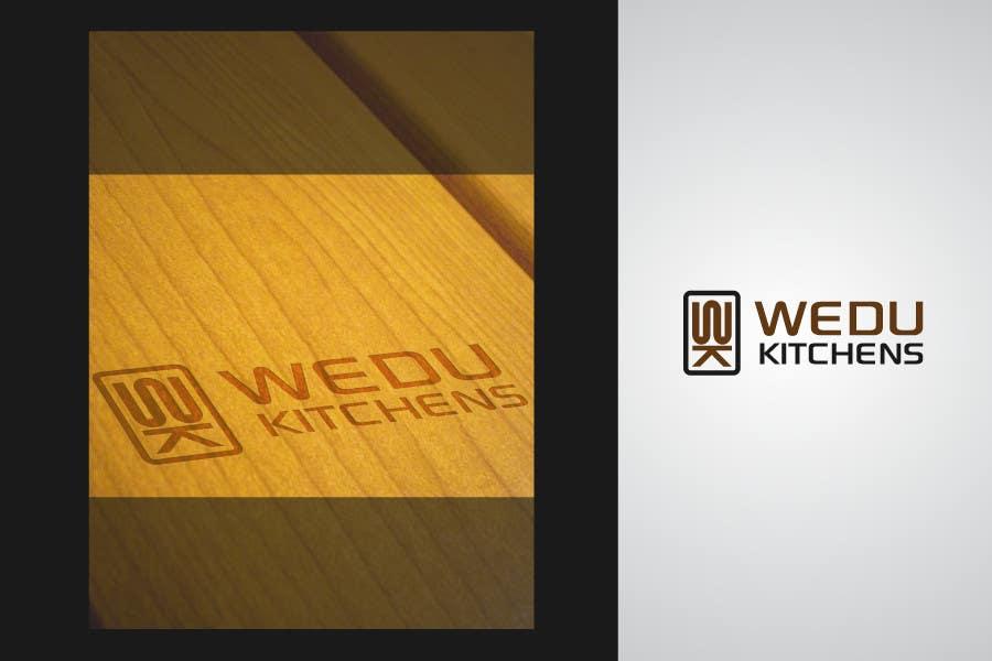 Kilpailutyö #263 kilpailussa Logo Design for Wedu Kitchens