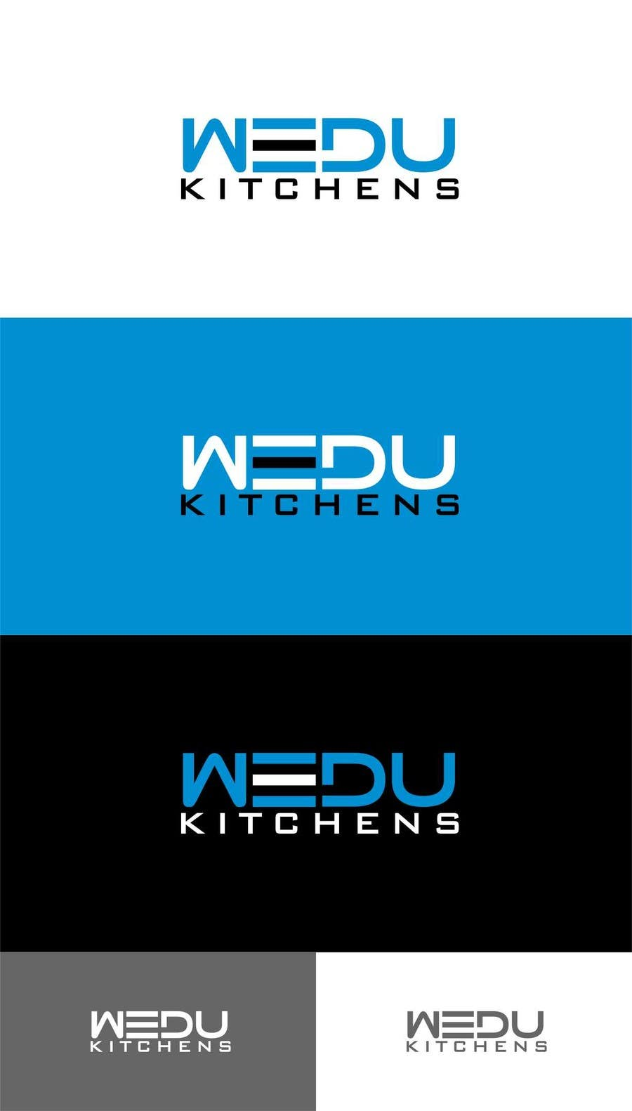 #189 for Logo Design for Wedu Kitchens by trying2w