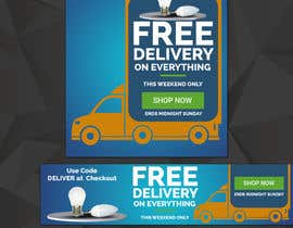 #25 for Design 3 Banners - Free Delivery af khaledmohamed15r