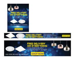 #47 for Design 3 Banners - Free Delivery af sahadathossain81