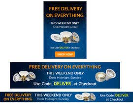 #42 for Design 3 Banners - Free Delivery af Anetadud
