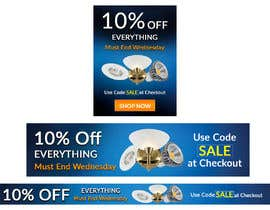 #67 for Design 3 Banners - 10% OFF Everything by Anetadud