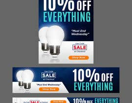 #61 cho Design 3 Banners - 10% OFF Everything bởi jhess31
