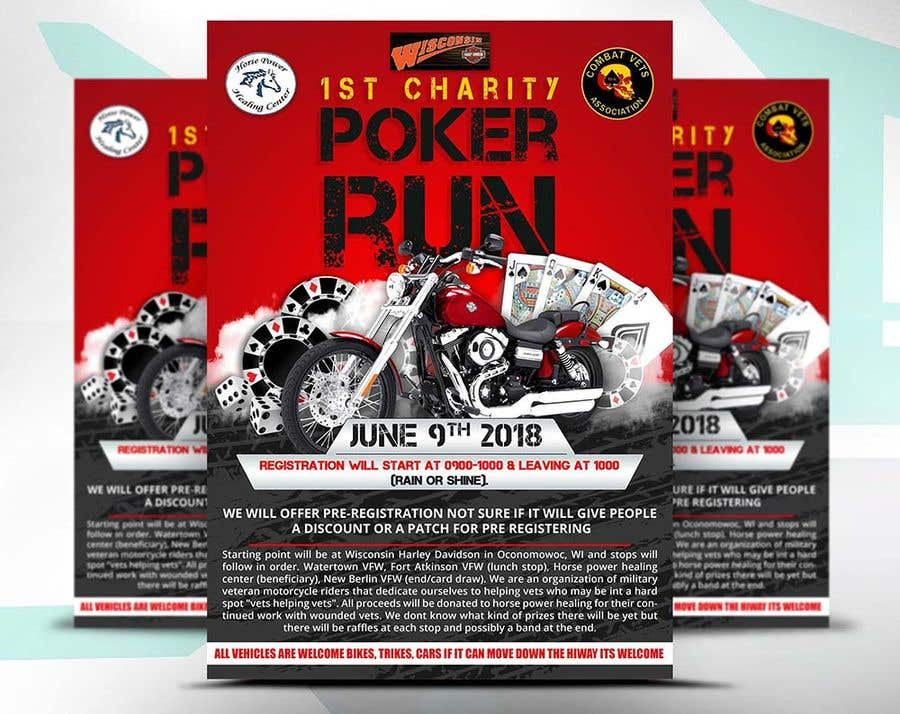 Contest Entry #41 for Inuagural poker run flyer
