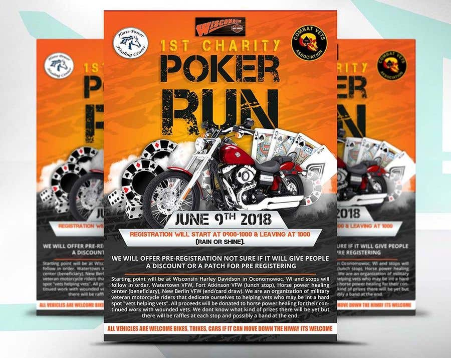Contest Entry #42 for Inuagural poker run flyer