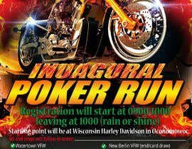 #35 for Inuagural poker run flyer by tazulv2027