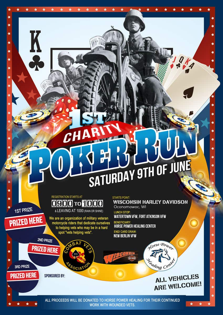 Contest Entry #27 for Inuagural poker run flyer