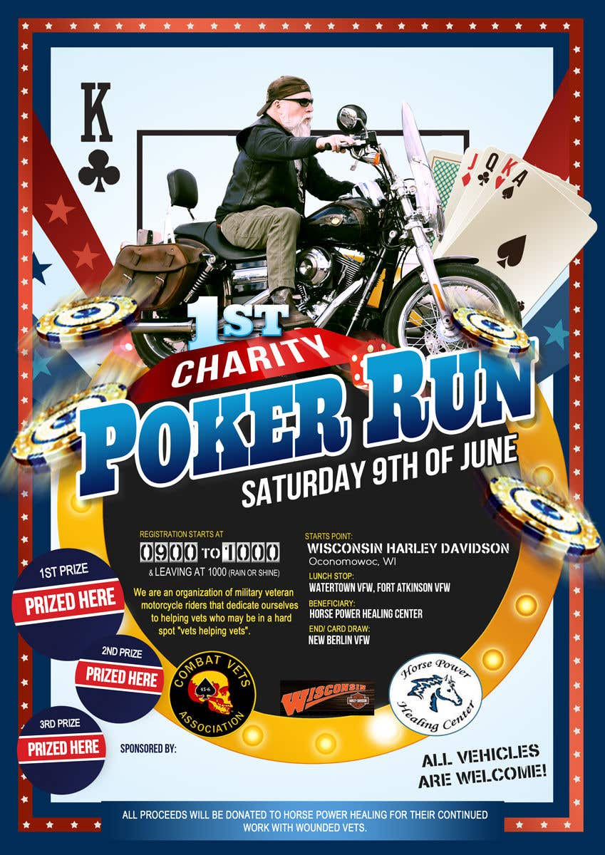 Contest Entry #30 for Inuagural poker run flyer
