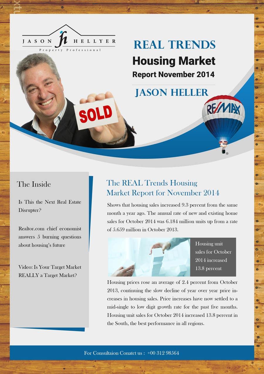 Bài tham dự cuộc thi #                                        14                                      cho                                         Real Estate Newsletter/Brochure