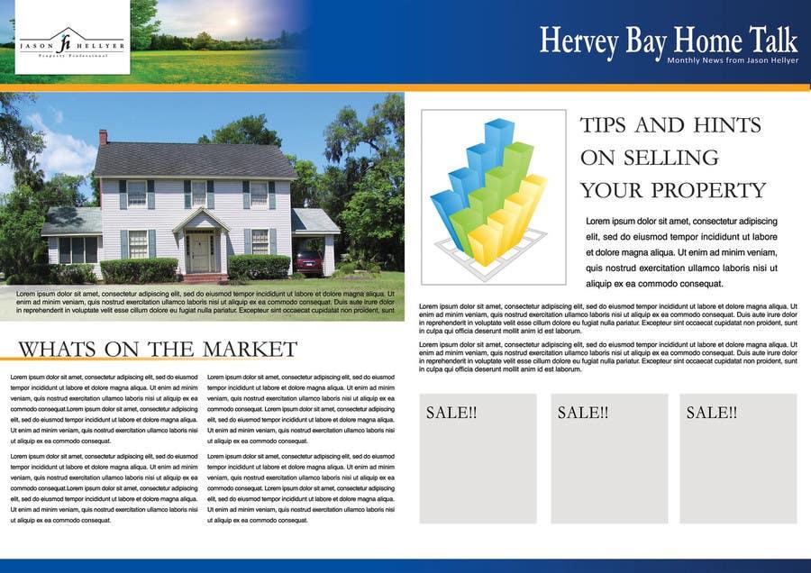 Bài tham dự cuộc thi #                                        4                                      cho                                         Real Estate Newsletter/Brochure