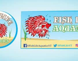 #13 for Logos and Channel Art - Fish Life Aquatics by zaidwaqar66