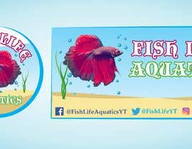 #15 for Logos and Channel Art - Fish Life Aquatics by zaidwaqar66