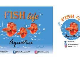 #20 for Logos and Channel Art - Fish Life Aquatics by olafekri