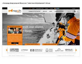 #75 para Website Design for NOAH Consulting por amandachien