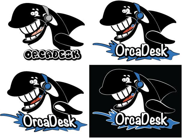 Konkurrenceindlæg #                                        3                                      for                                         Logo Design is required for software company called OrcaDesk. (related to support ticketing systems)