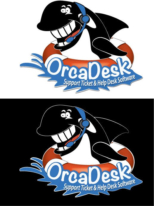 Konkurrenceindlæg #                                        11                                      for                                         Logo Design is required for software company called OrcaDesk. (related to support ticketing systems)